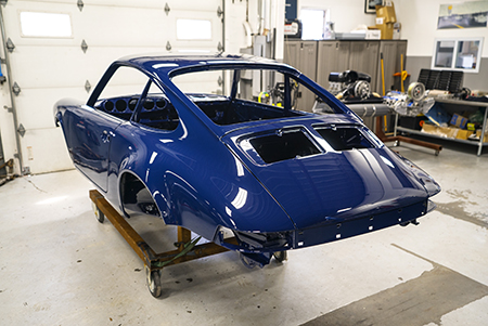 Restore Porsche Exterior