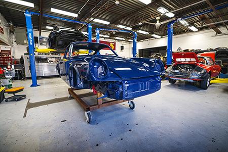 Restore Porsche Paint