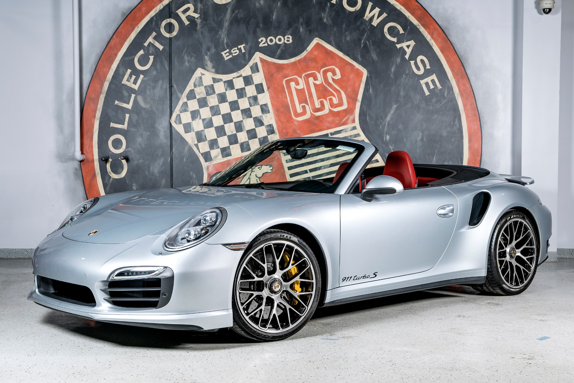 2014 Porsche 911 Turbo S Cabriolet Stock 1329 For Sale