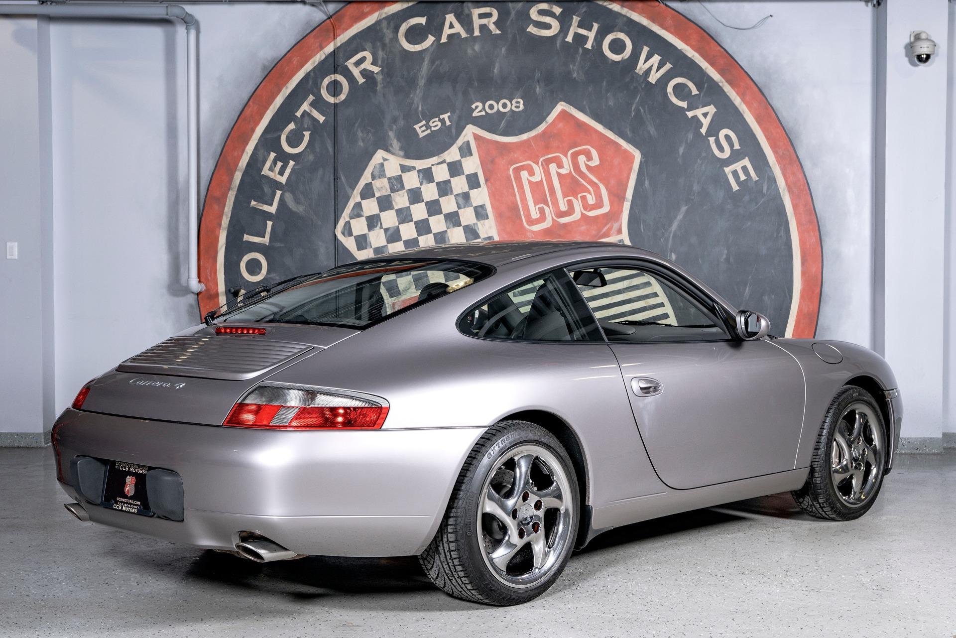 Used 2001 Porsche 911 Carrera 4 Coupe