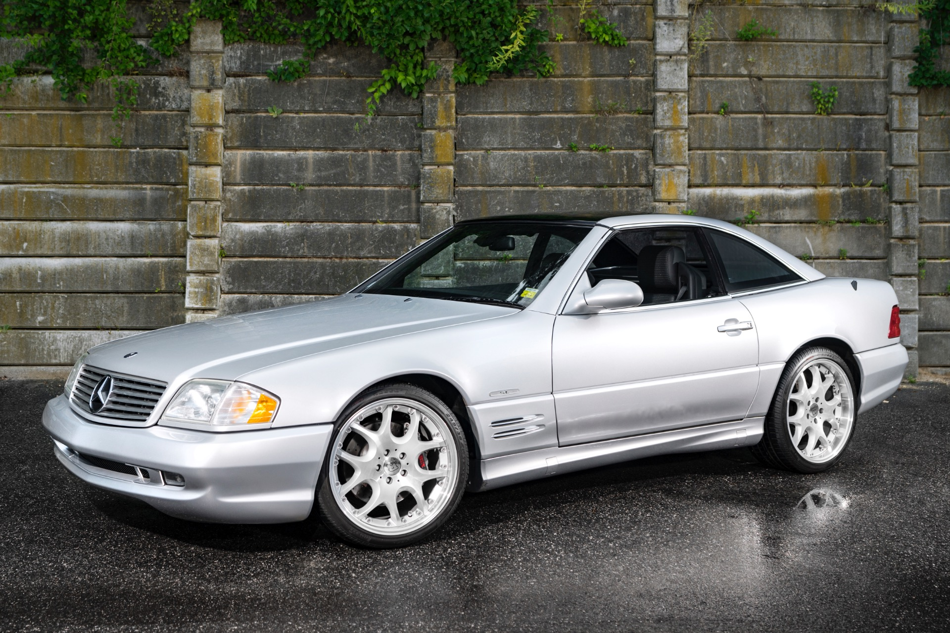 Used 2002 Mercedes-Benz SL-600 Silver Arrow - Brabus SL 600 | Oyster Bay, NY