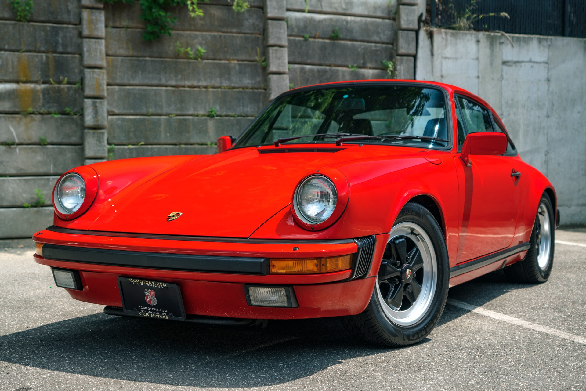 1986 porsche 911 carrera stock 1415 for sale near oyster. Black Bedroom Furniture Sets. Home Design Ideas