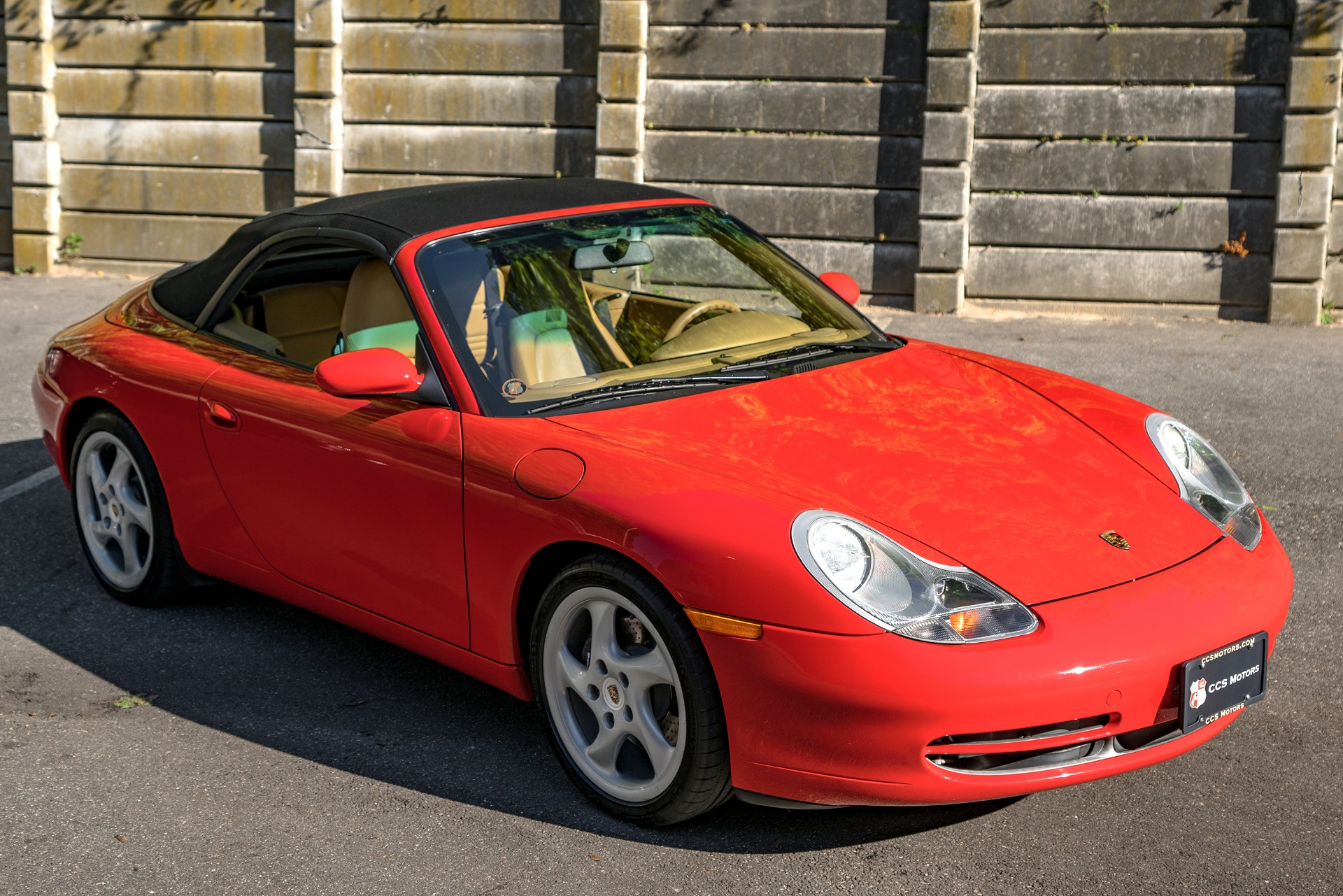 2000 Porsche 911 Carrera Cabriolet Stock 1449 For Sale