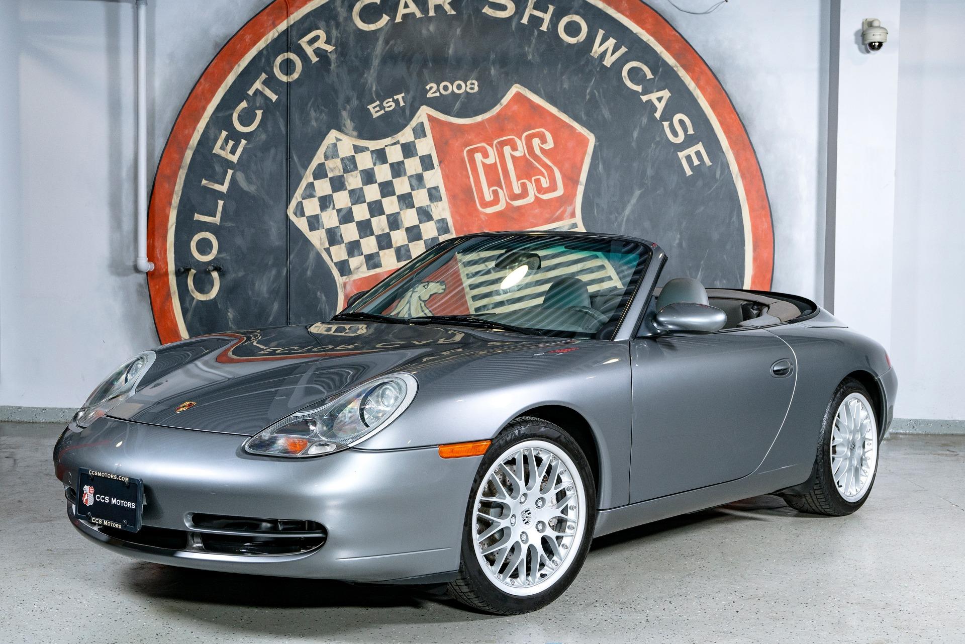 Used 2001 PORSCHE 911 Carrera 4 Cabriolet | Oyster Bay, NY