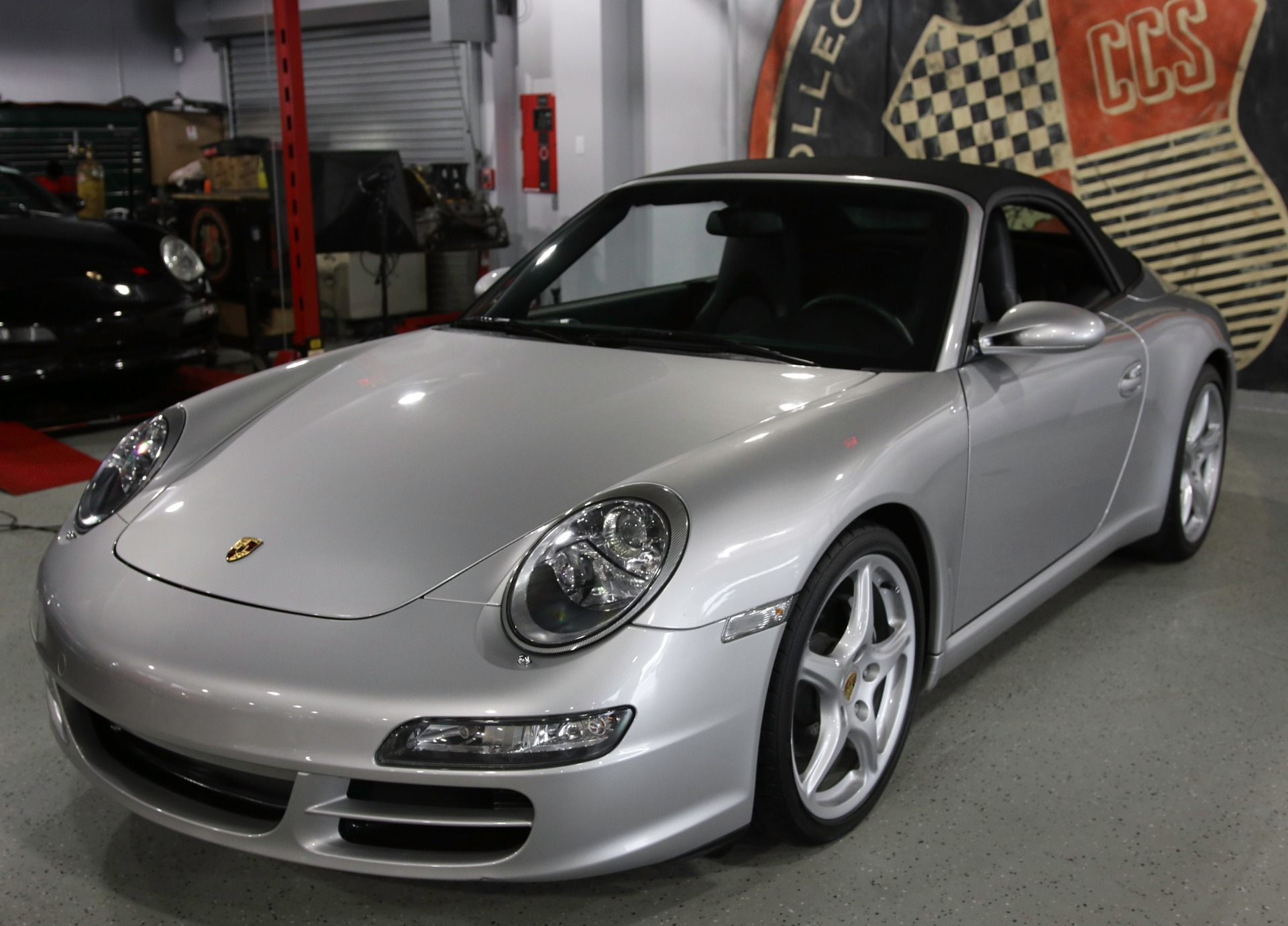 2005 porsche 911 carrera cabriolet stock 1215 for sale. Black Bedroom Furniture Sets. Home Design Ideas