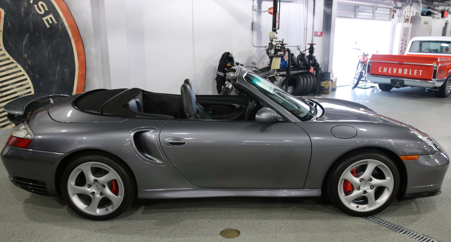 2004 porsche 911 turbo cabriolet 6-speed stock # 1218x for sale near