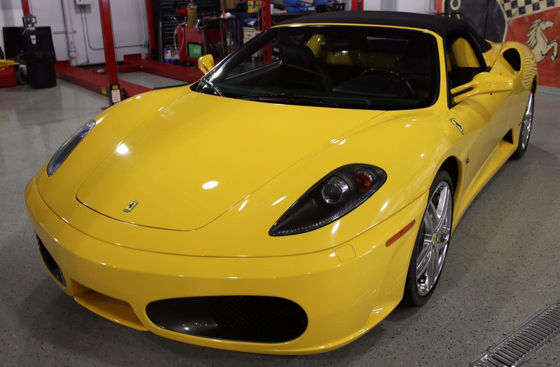 2007 ferrari f430 spider stock c1034 for sale near. Black Bedroom Furniture Sets. Home Design Ideas